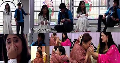 """Kartik-Naira Blame themselves For Vedika Dadi Stops Vedika "" Yeh Rishta Kya Kehlata Hai Episode Spoiler"