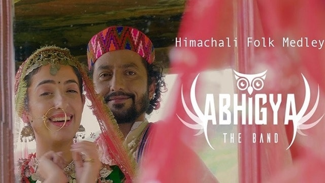 Abhigya -The Band Himachali Folk Medley Mashup 2020 Hindi Lyrics