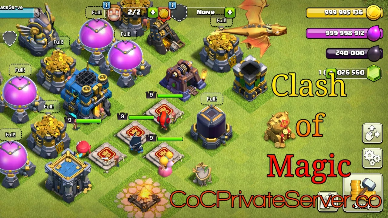 Download Clash Of Magic 2020 Hack Of Clash Of Clans