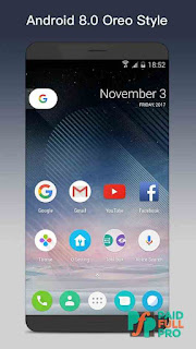 O Launcher 8.0 for Android O Oreo Launcher Prime APK
