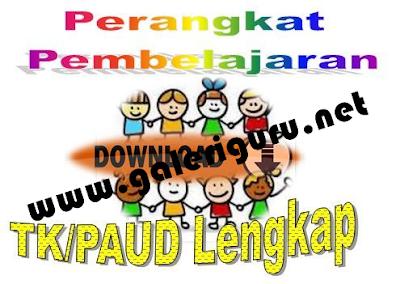 Download Kurikulum 2013 TK/PAU Perangkat Pembelajaran
