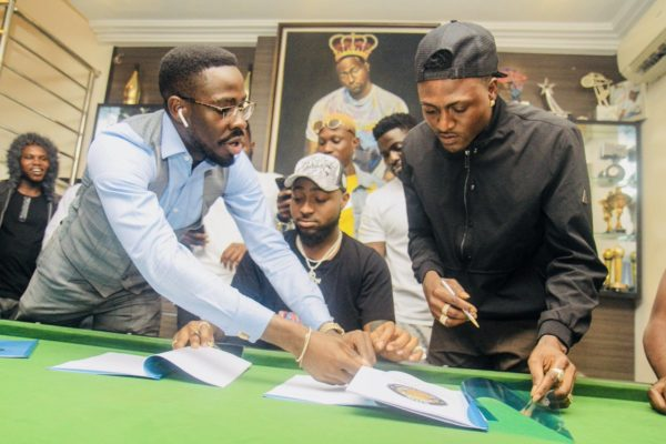 Davido signed Idowest as newest addition to DMW