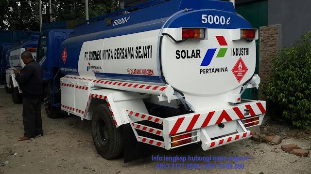 harga truk tangki bbm colt diesel canter tahun 2020