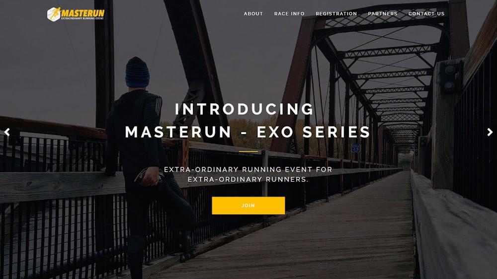MasteRun - Exo Series • 2017