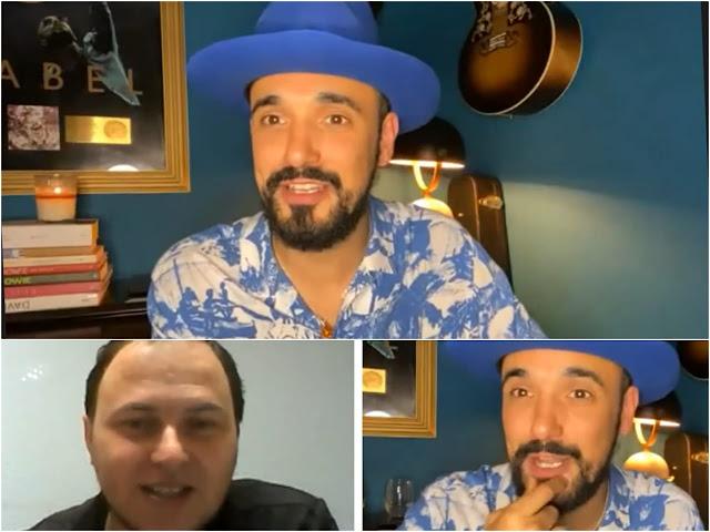 Abel Pintos - Damian Huber Nota