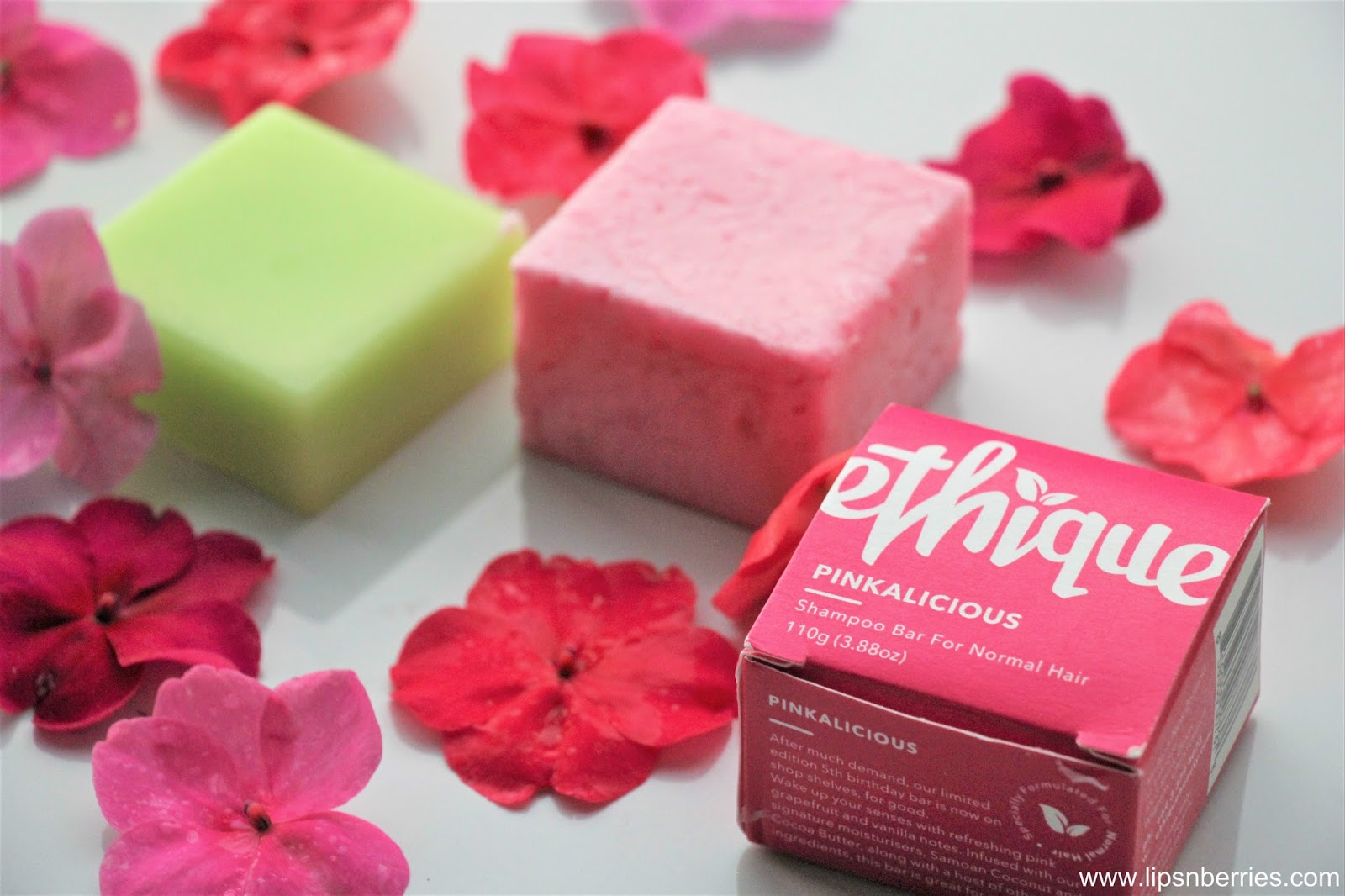 Ethique Pinkalicious Shampoo Bar Wonderbar Conditioner Review