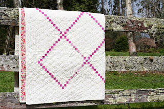 Irish Chain Quilt by Wooden Spoon Quilts