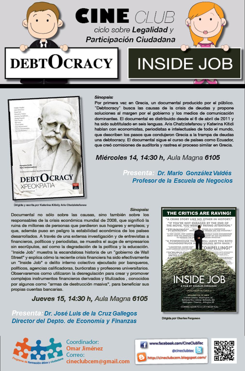 Inside Job Doku Deutsch