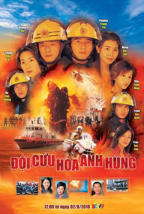 [TVB] Đội Cứu Hoả Anh Hùng 2 - Burning Flame 2 (2002) 720p FFVN