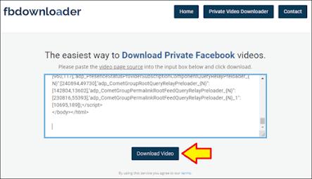Cara Download Video Facebook di PC - 8
