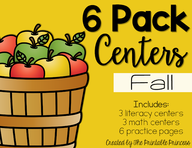 You're going to love these easy fall centers for Kindergarten students and homeschool families! Your students will practice both literacy and math skills to make this fall season the most fun yet! Between the apple and leaf activities included, your students are going to love fall all September, October, and November long! Preschool and first grade students may enjoy these activities as well! Plus, there's a FREE downloaded included! Make sure to check it all out and grab your freebie today!