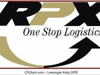 Lowongan Kerja Warehouse RPX ONE STOP LOGISTICS Tangerang Terbaru