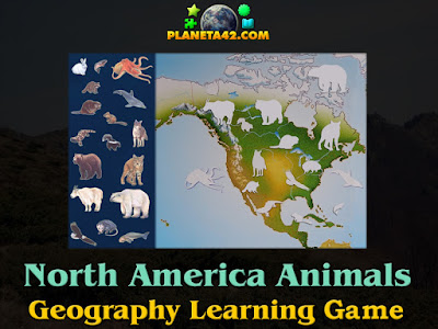 North America Animals