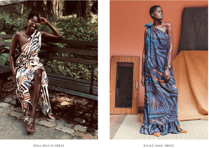 Meet the Senegalese who left Wall Street to become a designer. Her beautiful prints are based on maths equations