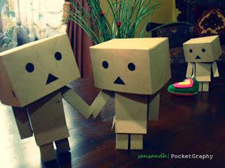 danbo handmade by sansandh d4slikn - CINTA YANG SALAH