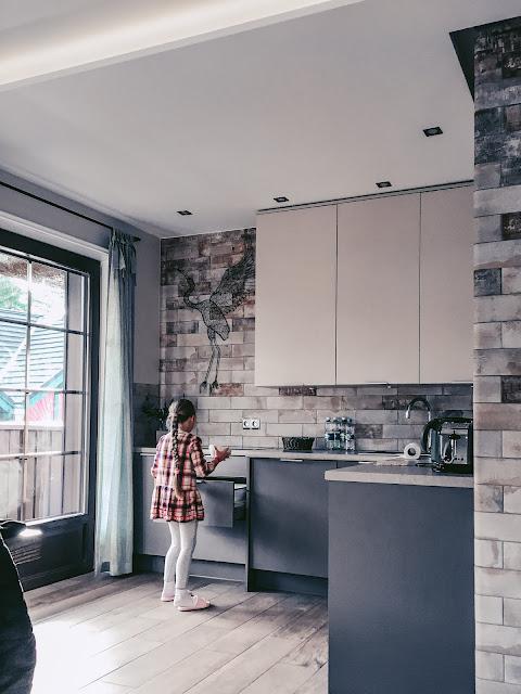 kuchyň v apartmánu