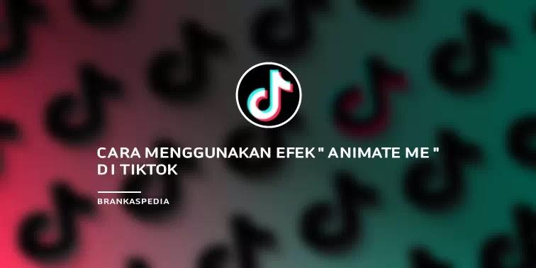 Cara Menggunakan Efek Animate Me TikTok