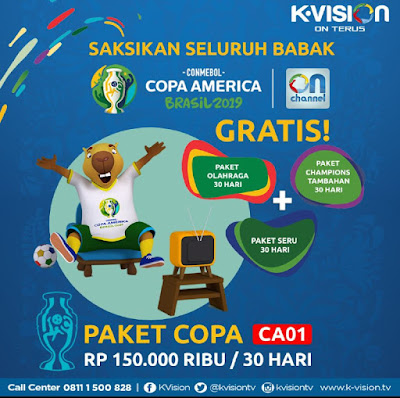 Copa America 2019 K-Vision