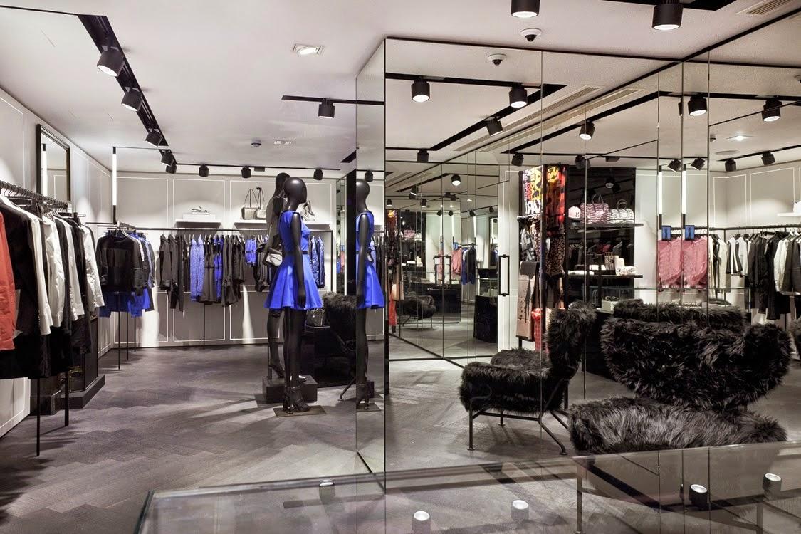 karl lagerfeld store em londres design innova. Black Bedroom Furniture Sets. Home Design Ideas