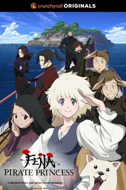 El anime Fena: Pirate Princess