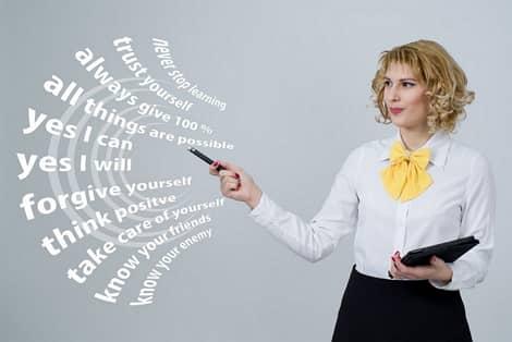 imagem de uma professora