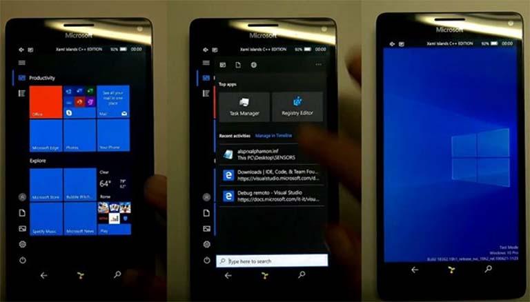 Mobile Shell Untuk Windows 10 ARM Memberi Kemajuan Yang Signifikan
