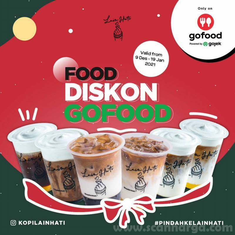 Promo Kopi Lain Hati Food Diskon Gofood