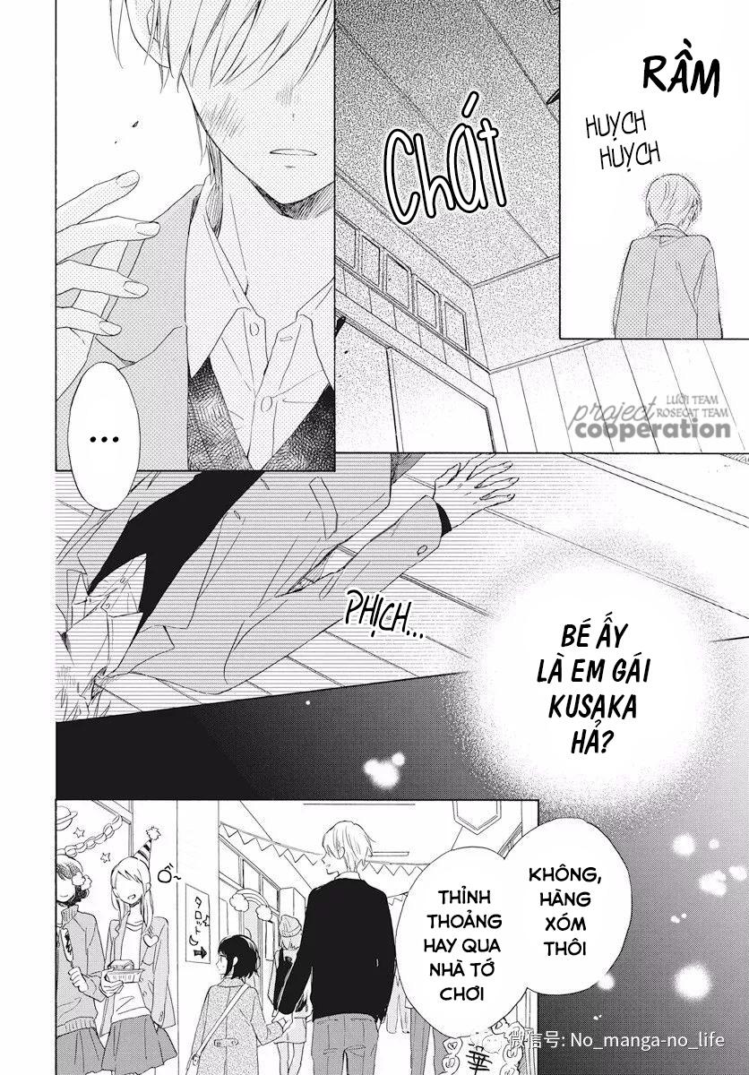 Kimi wa Haru ni Me wo Samasu chap 16 - Trang 17