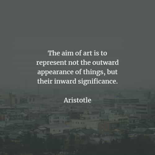 Famous quotes and sayings by Aristotle