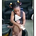 Watch video:A 7-year old girl bathing her newly born sibling