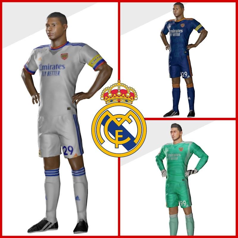 Kit Real Madrid 2022 & Logo Dream League Soccer 2021