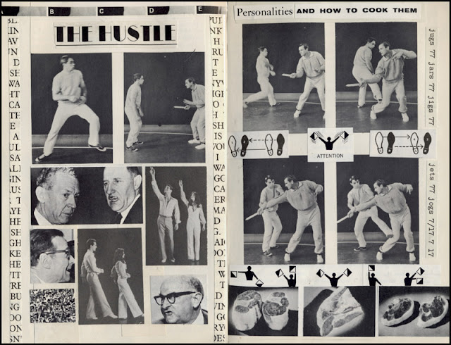 Altered book -- martial arts and disco