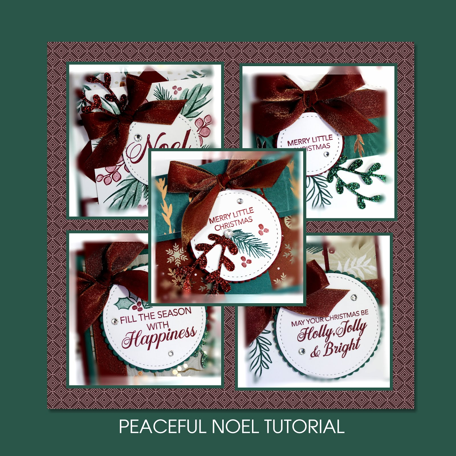 December 2018 Peaceful Noel Tutorial