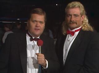 NWA Chi-Town Rumble 1989 - Jim Ross & Magnum TA