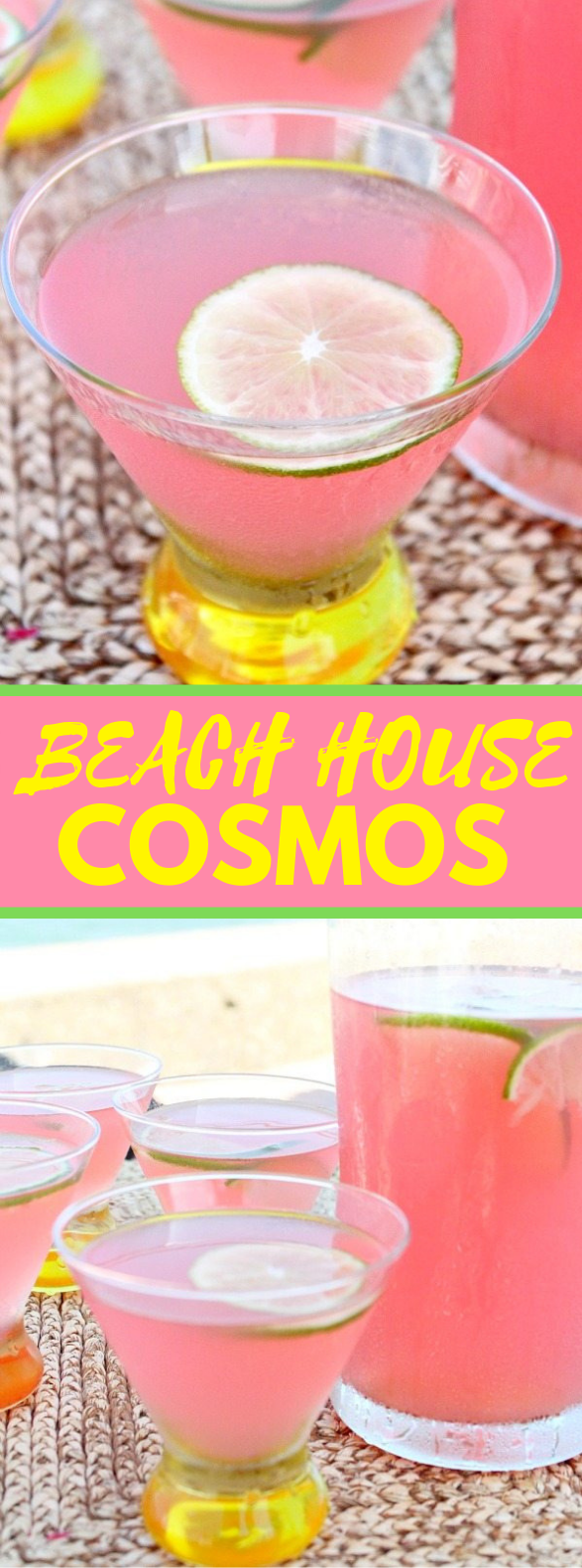 BEACH HOUSE COSMOS #drinks #summer