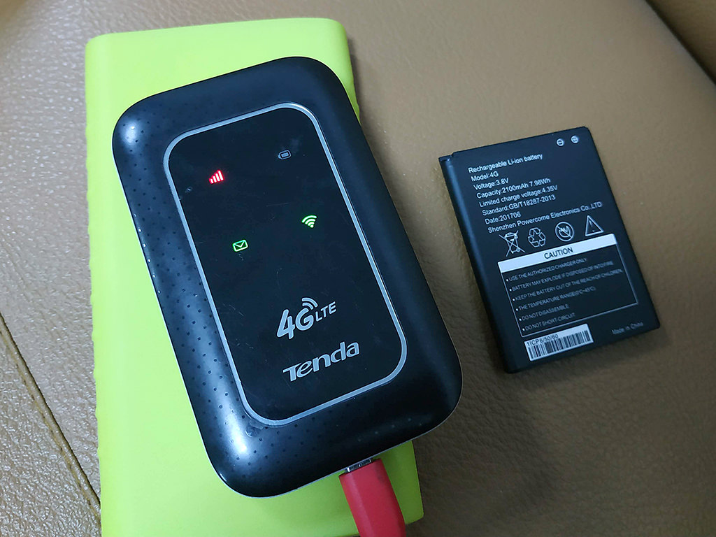 Ưu điểm củaBộ phát Wifi 4G LTE Tenda Chính Hãng - 4G185