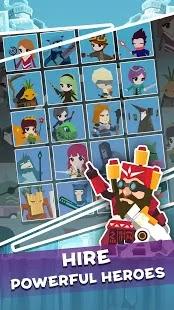 Tap Titan 2 Mod Apk Gameplay Heroes
