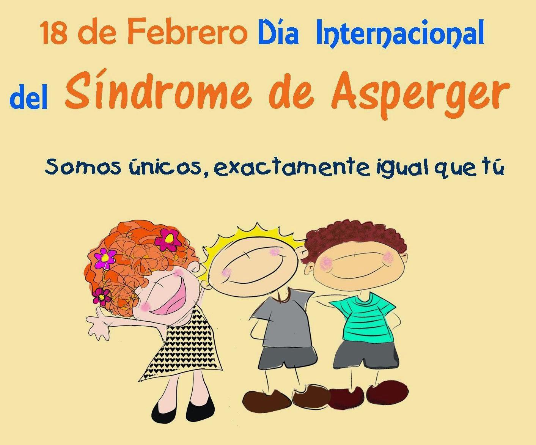 Resultado de imagen de dia mundial del síndrome de asperger