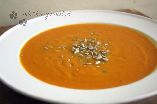 Piątkowe Inspiracje - Zupa z pieczonej dyni
