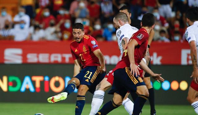 ملخص واهداف مباراة اسبانيا وجورجيا (4-0) تصفيات كاس العالم