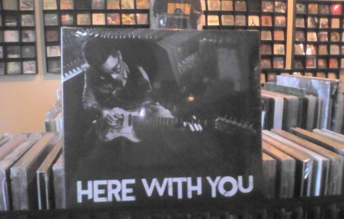 """Gitaris Andre Dinuth Rilis Album Solo Gitar """"Here With You"""""""