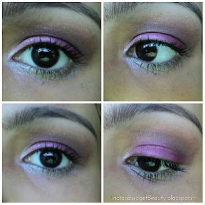 MUA Glamour Night Eyeshadow Palette eye look 2