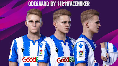 PES 2020 Faces Martin Ødegaard by Sjr11