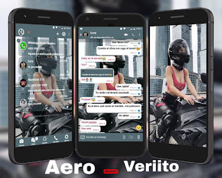 Racing Girls Theme For YOWhatsApp & Fouad WhatsApp By Veriito