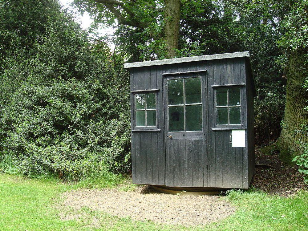 George Bernard Shaw's hut