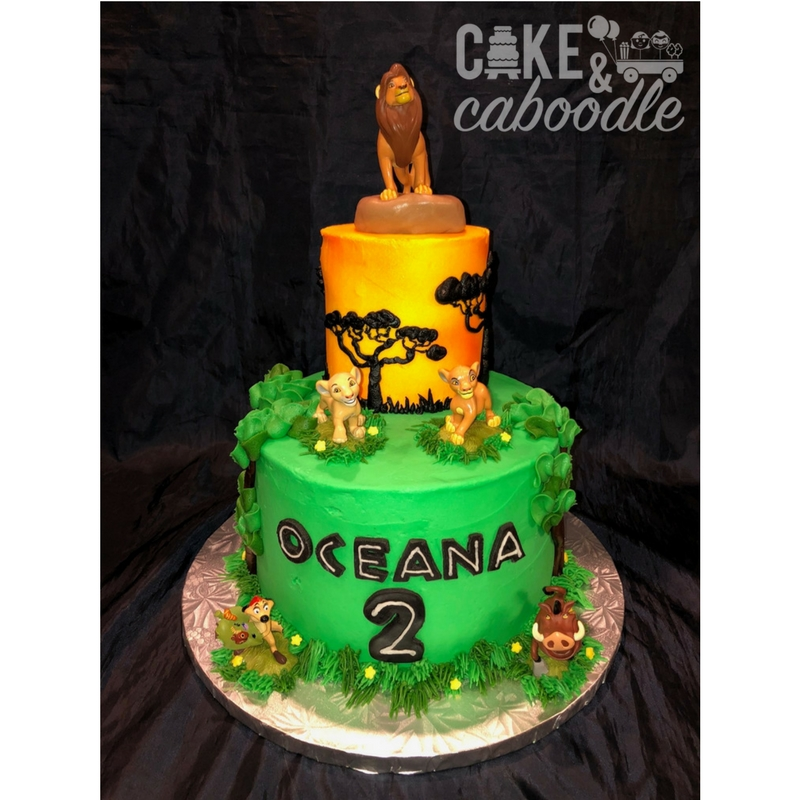 Lion King Cake Cake And Caboodle