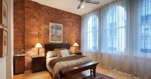 7 Contoh Gambar Dinding Rumah dengan Bata Merah  100