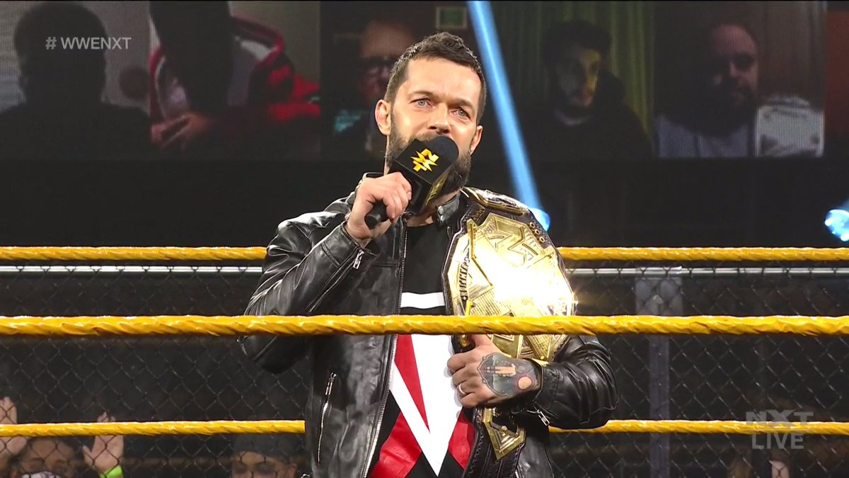 Finn Balor e a Undisputed Era retornam ao WWE NXT