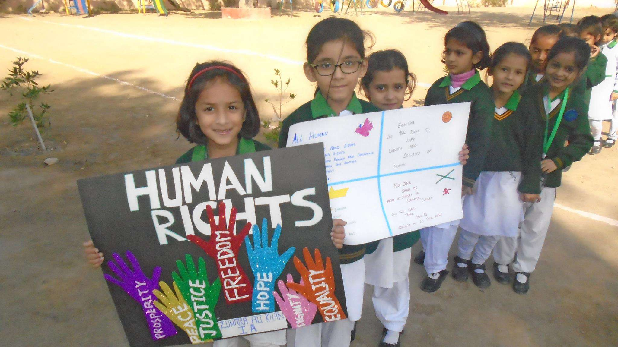 Human Rights Day Wishes Unique Image