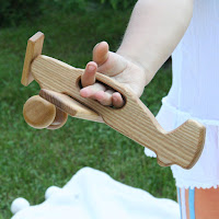 Lotes Toys Wooden Airplane III (FY03)